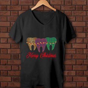 Top Dental assistant Merry Christmas shirt
