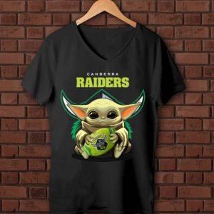 Top Football Baby Yoda Canberra Raiders shirt