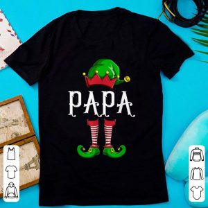 Top Papa Elf Family Matching Group Christmas Gift Dad Men Funny sweater
