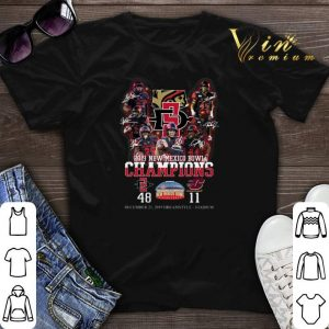 2019 New Mexico Bowl Champions Aztecs vs Central Michigan signed shirt sweater