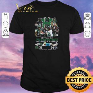 Awesome 2019 Hawaii Bowl Champions Hawaii Rainbow Warriors BYU Cougars shirt sweater