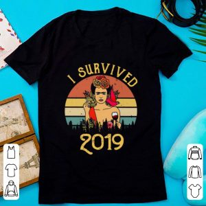 Awesome Frida Kahlo Artist I survived 2019 shirt