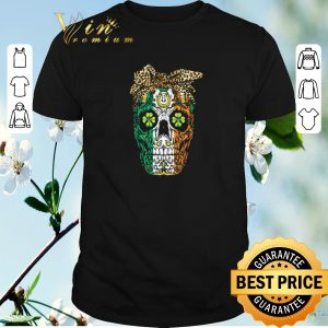 Funny Sugar Skull Mom Cookies St Patrick's Day shirt sweater