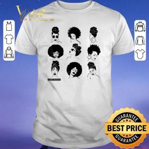 Hot Afro And Headwrap Ladies Afrocentric Love Yaayaa shirt sweater