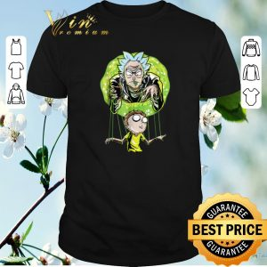Hot Rick And Morty Puppet And Space Portal shirt sweater