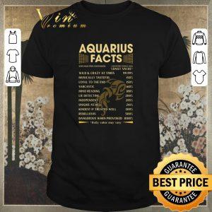 Nice Aquarius facts wild crazy at times musically tasteful sarcastic shirt sweater