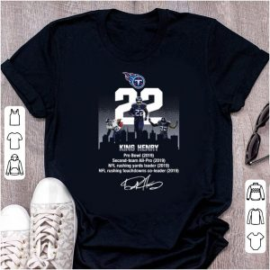 Nice Tennessee Titans King Henry Pro Bowl 2019 signature shirt