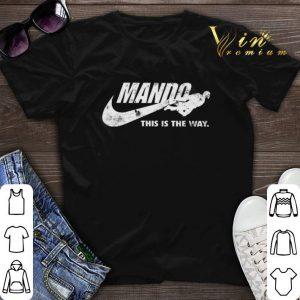 Nike Mando this is the way Mandalorian Star Wars shirt sweater
