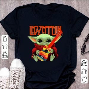Original Baby Yoda Hug Led-zeppelin Guitar shirt