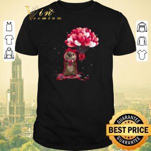 Original Otter love balloons heart shirt sweater