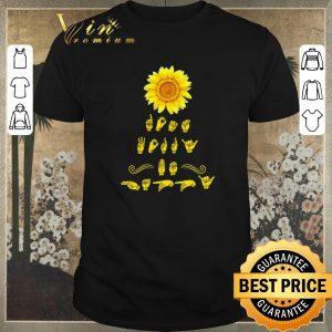 Original Sunflower Sign Language shirt sweater