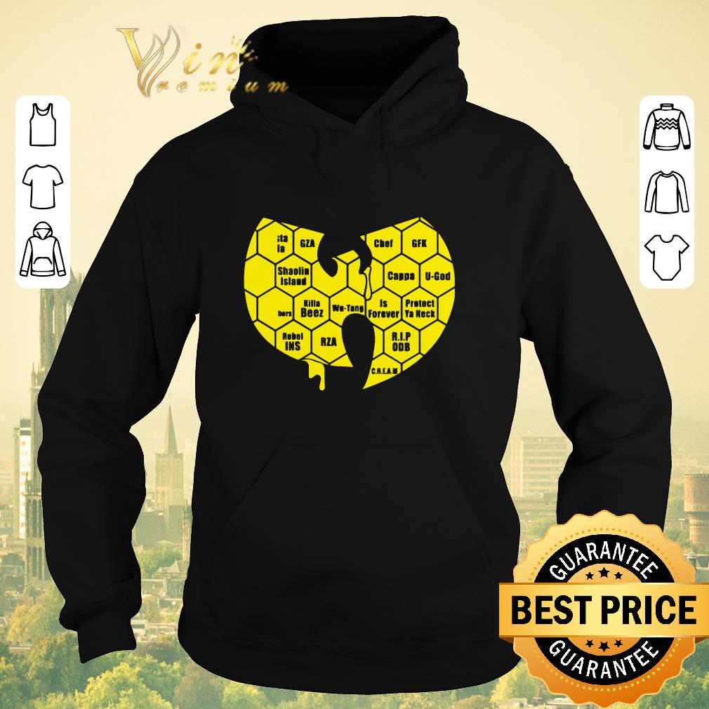 Original Wu tang Clan Logo Killa Beez Is Forever shirt sweater 4 - Original Wu-tang Clan Logo Killa Beez Is Forever shirt sweater