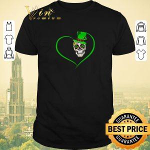 Premium Heart Happy St Patrick's Day Love Sugar Skull.png sweater