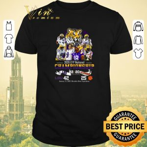 Pretty 2020 CFP National Championship LSU Tigers vs Clemson Tigers shirt sweater