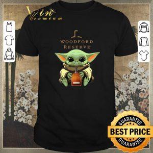 Pretty Baby Yoda hug Woodford Reserve Star Wars shirt sweater