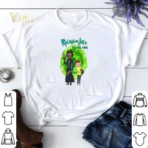 Rick and Morty Roll and Jake the dark tower shirt sweater