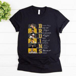Top Bruins Bobby Orr Patrice Bergeron Signatures shirt
