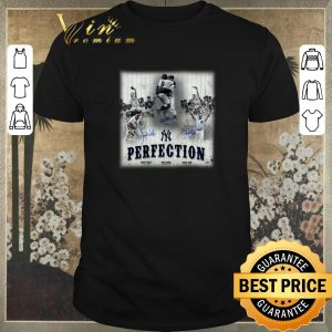 Top New York Yankees Perfection Don Larsen Signatures Autographed shirt sweater