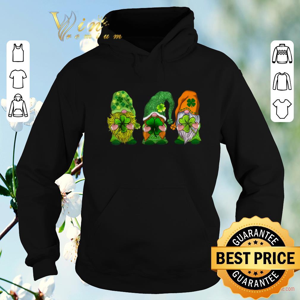 Top Three Gnomes Happy St Patrick s Day shirt sweater 4 - Top Three Gnomes Happy St Patrick's Day shirt sweater