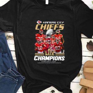 Awesome Kansas City Chiefs Champions February 2 2020 Signatures shirt