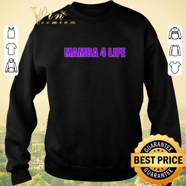 Awesome Mamba 4 life Kobe Bryant shirt sweater