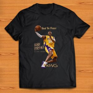 Awesome Rest In Peace Kobe Bryant King shirt