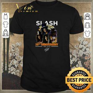 Awesome Slash 38th anniversary 1981 2019 signature Myles Kennedy shirt sweater