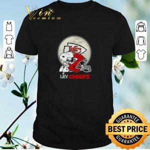 Awesome Snoopy Hug Super Bowl LIV Kansas City Chiefs shirt sweater