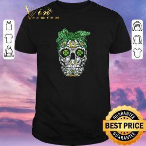Awesome Sugar Skull Shamrock St. Patrick's day shirt sweater