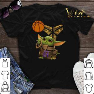 Baby Yoda 24 Kobe Bryant basketball Logo shirt sweater