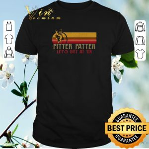 Funny Becgie Pitter Patter Let's get at 'er shirt sweater