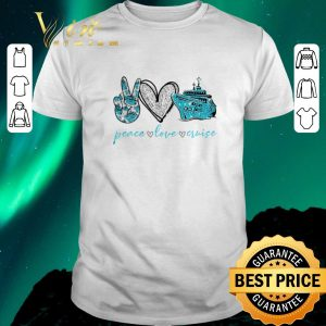 Funny Diamond Peace love cruise shirt sweater