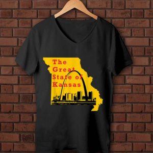 Great Kansas City Chiefs The Great State Of Kansas Trump shirt