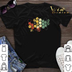 Honeycomb Rainbow shirt sweater