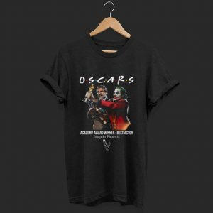 Hot Joaquin Phoenix Joker Oscars 2020 Academy Award Winner Best Actor signature shirt