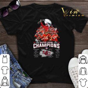 Kansas City Chiefs Super Bowl Champions Patrick Mahomes signed shirt sweater