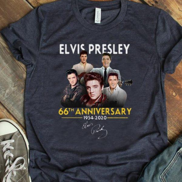 Nice Elvis Presley 66th Anniversary 1975 – 2020 Signature shirt
