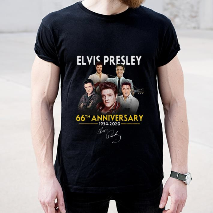 Nice Elvis Presley 66th Anniversary 1975 2020 Signature shirt 4 - Nice Elvis Presley 66th Anniversary 1975 – 2020 Signature shirt