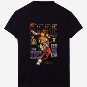 Nice Kobe Bryants The Black Mamba 5 Times NBA Champions Signature shirt