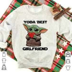 Official Baby Yoda Best Girlfriend Valentine's Day shirt
