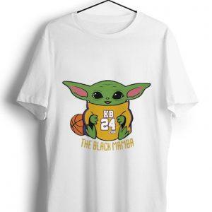 Official Baby Yoda Kobe Bryant KO8E24 The Black Mamba shirt