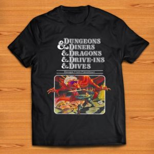 Official Dungeons Diners Dragon Driver-ins Dives Escape From Flavortown shirt