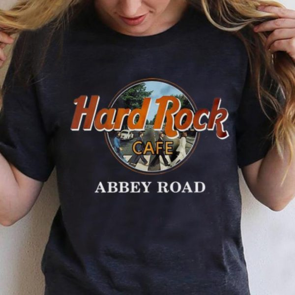 Official Hard Rock Cafe Abbey Road shirt