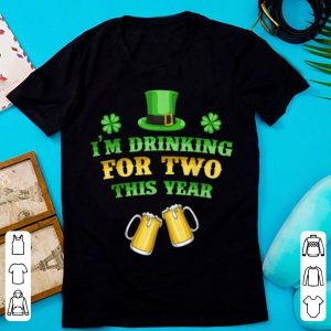 Official Pregnancy Announcement St Patricks Day For Women shirt