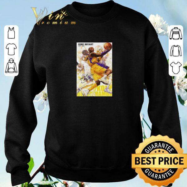 Official RIP Kobe Bryant 1978 2020 Signature Kobe Black Mamba Out Poster shirt sweater