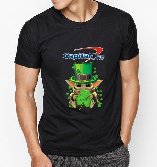 Original Baby Yoda Capital One Shamrock St.Patrick's Day shirt