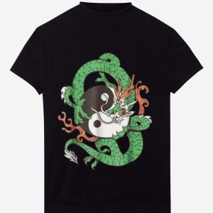 Original Dragon Yin Yang Dragon Ball shirt