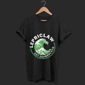 Original Irish Lepriclaw Get Shamrocked St. Patrick's Day shirt