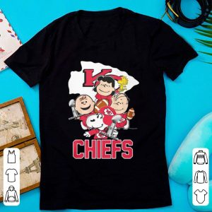 Original Kansas City Chiefs Peanuts Characters shirt