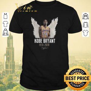 Original Rip Kobe Bryant 1978 2020 signature wings haven shirt